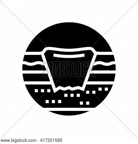 Bedsore Pressure Ulcers Disease Line Icon Vector. Bedsore Pressure Ulcers Disease Sign. Isolated Con