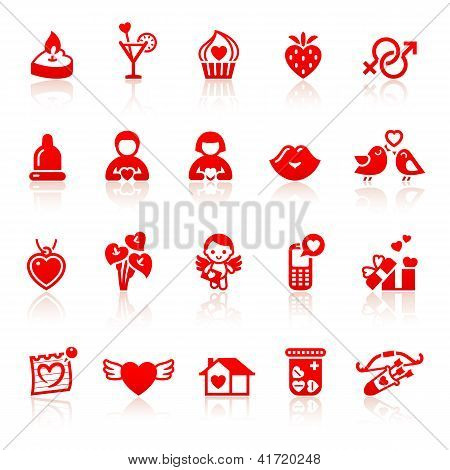 81_set Valentine's Day Red Icons With Hearts.jpg