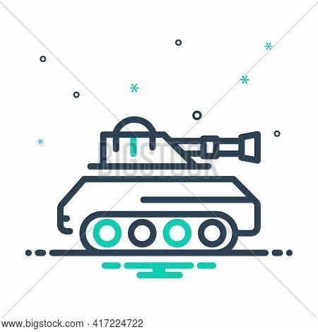 Mix Icon For Tank  Army   Battle Vehicle Gulf Attack Fight Vehicle