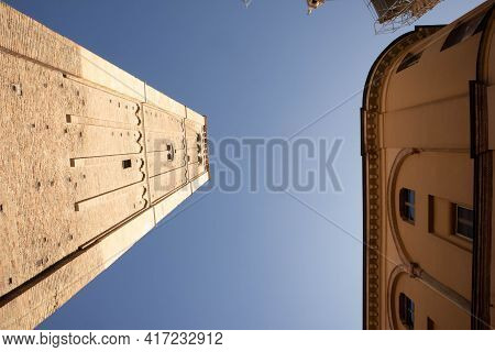 Perspective Of Cathedrale Santa Maria Assunta Parma, Italy