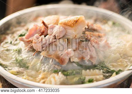 Thai Style Grilled Sliced Pork (thai Barbeque)