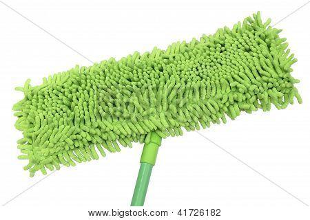 Green Microfiber Mop