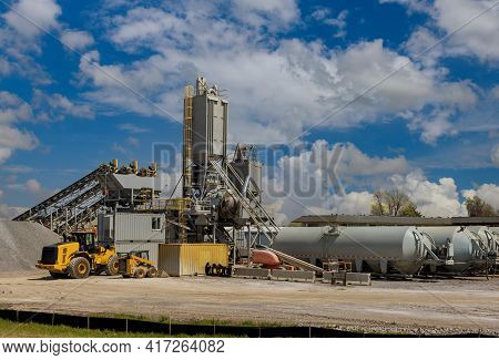 Sand Making Plant In Crushing Factory On Machines And Equipment For Crushing, Grinding Stone Bulk Ma