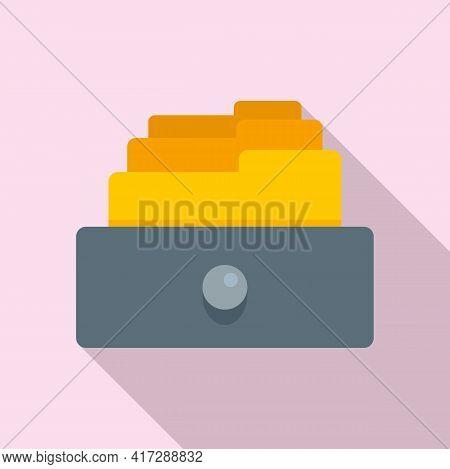 Copy Storage Documents Icon. Flat Illustration Of Copy Storage Documents Vector Icon For Web Design