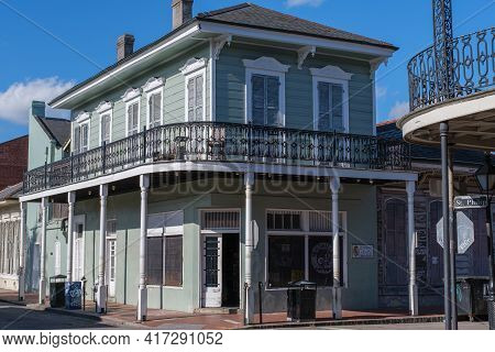 New Orleans, La - January 14: Historic Matassa's Market Storefront In The French Quarter On January