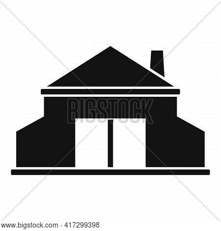 Blacksmith Building Icon. Simple Illustration Of Blacksmith Building Vector Icon For Web Design Isol