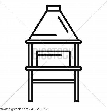Blacksmith Equipment Icon. Outline Blacksmith Equipment Vector Icon For Web Design Isolated On White