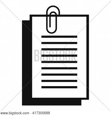Sticker Space Organization Icon. Simple Illustration Of Sticker Space Organization Vector Icon For W