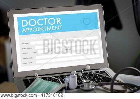Doctor Appointment Medical And Health Care Calendar To Remind You An Important Appointment