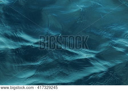 A Closeup Shot Of Peaceful Calming Textures Of The Body Of Water