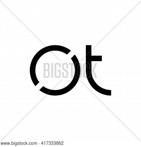 Illustration Vector Design Graphic Of Logo Letter Ot