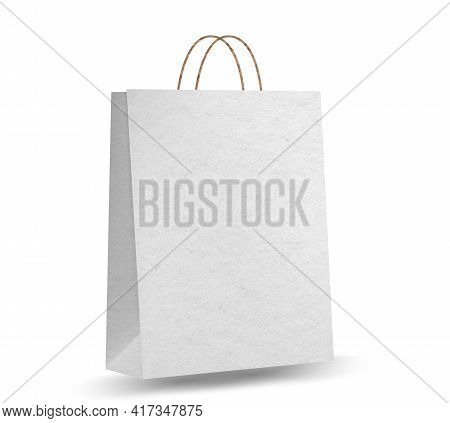 Empty Shopping Bag Shopping Goods And Products Transportation Shoppings From Shop Or Grocery. Realis