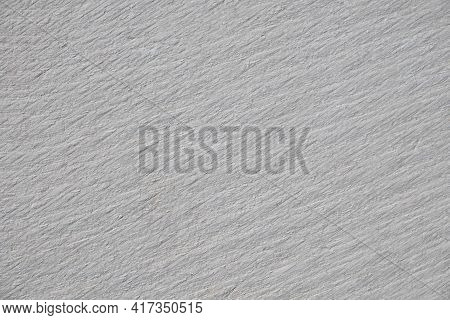 Furrows On A Stone Surface. Cross Section Cut Of A Marble Stone