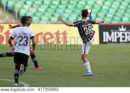 Rio, Brazil - April 17, 2021: Martinelli Player In Match Between Fluminense V Botafogo By Carioca Ch