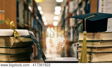 Global Education, Online Study School Course, E-learning Class, E-book And World Educational Academi