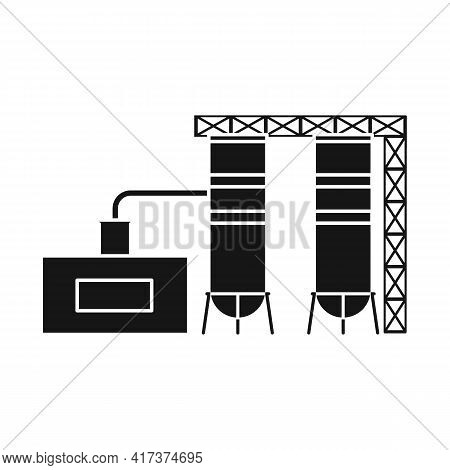Vector Design Of Warehouse And Garage Sign. Collection Of Warehouse And Storage Vector Icon For Stoc