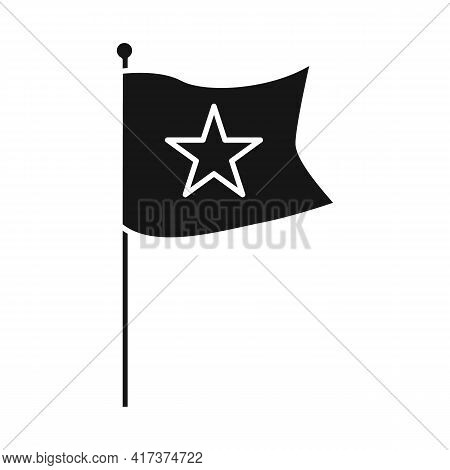 Isolated Object Of Flag And Red Logo. Collection Of Flag And Vietnamese Vector Icon For Stock.