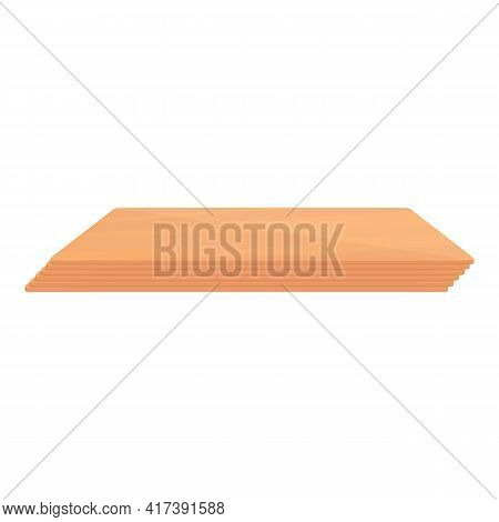 Plywood Bending Icon. Cartoon Of Plywood Bending Vector Icon For Web Design Isolated On White Backgr