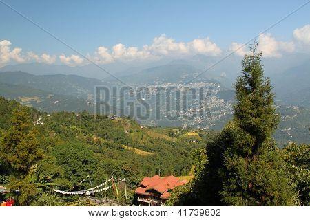 Rumtek Monastery, Gangtok, Sikkim, India.