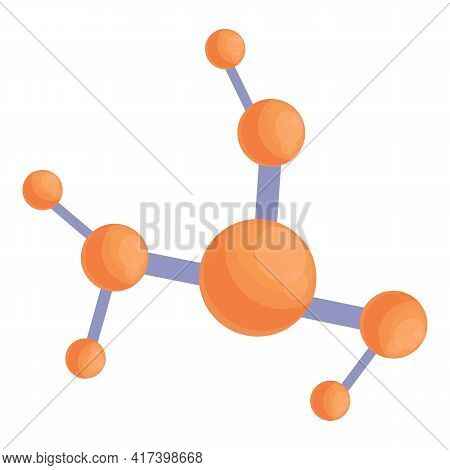 Scientist Chemical Formula Icon. Cartoon Of Scientist Chemical Formula Vector Icon For Web Design Is