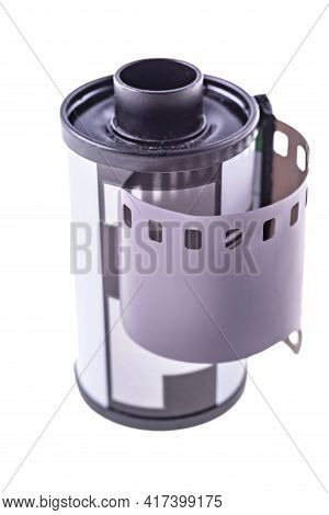 Metal Can For 35Mm 35Mm Photographic Film. New Photographic Film For Analog Cameras.