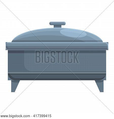 Chemical Press Form Machine Icon. Cartoon Of Chemical Press Form Machine Vector Icon For Web Design
