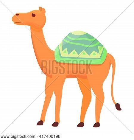 Camel Animal Icon. Cartoon Of Camel Animal Vector Icon For Web Design Isolated On White Background