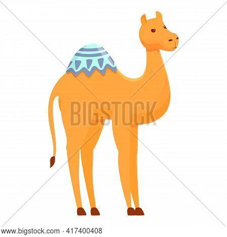 Dubai Camel Icon. Cartoon Of Dubai Camel Vector Icon For Web Design Isolated On White Background