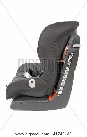 Side View Of Safety Car Seat