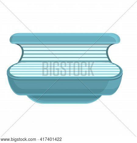 Solarium Heat Icon. Cartoon Of Solarium Heat Vector Icon For Web Design Isolated On White Background