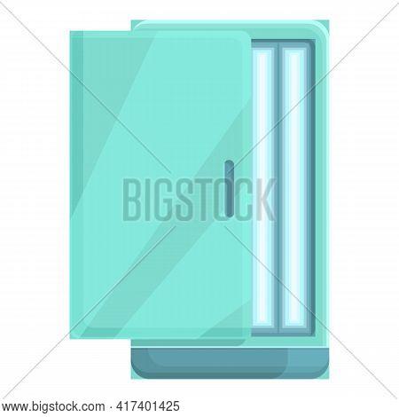 Solarium Hot Icon. Cartoon Of Solarium Hot Vector Icon For Web Design Isolated On White Background