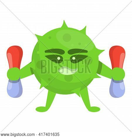 Virus Antibiotic Resistance Icon. Cartoon Of Virus Antibiotic Resistance Vector Icon For Web Design