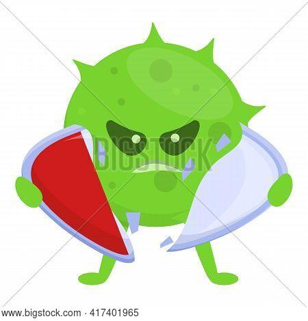Blister Antibiotic Resistance Icon. Cartoon Of Blister Antibiotic Resistance Vector Icon For Web Des