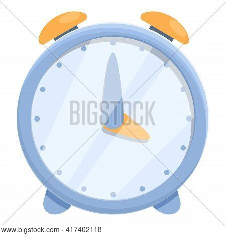 Alarm Clock Task Schedule Icon. Cartoon Of Alarm Clock Task Schedule Vector Icon For Web Design Isol