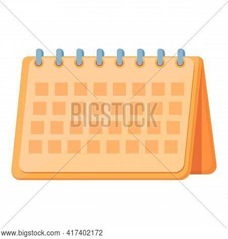 Office Calendar Task Schedule Icon. Cartoon Of Office Calendar Task Schedule Vector Icon For Web Des