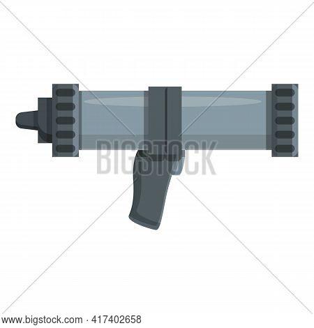 Insulation Silicone Caulk Gun Icon. Cartoon Of Insulation Silicone Caulk Gun Vector Icon For Web Des