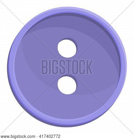 Atelier Button Icon. Cartoon Of Atelier Button Vector Icon For Web Design Isolated On White Backgrou