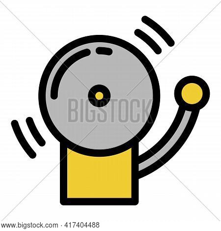 Boxing Time Icon. Outline Boxing Time Vector Icon For Web Design Isolated On White Background
