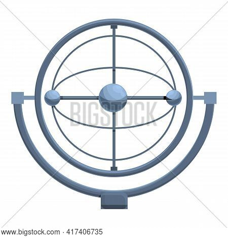 Perpetual Motion Sphere Balls Icon. Cartoon Of Perpetual Motion Sphere Balls Vector Icon For Web Des
