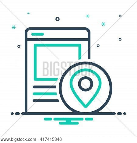 Mix Icon For Local-seo Local Seo Navigation Pointer Technology Strategy