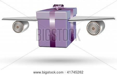 Flying Present