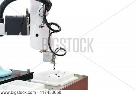 High Technology Accuracy Automation System Robot Arm With Vacuum Sucker Cup During Sorting Lift And
