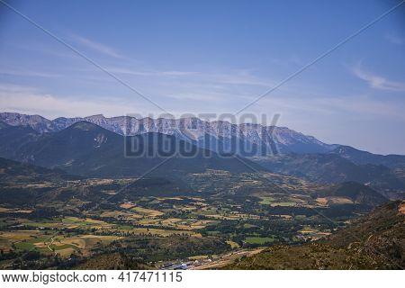Summer Landscape In La Cerdanya, Pyrenees, Spain