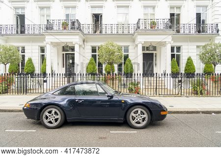 July 2020. London. Upmarket Car In Chelsea, London England