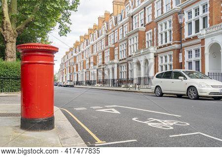 July 2020. London. Street Scene , South Kensington London England