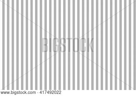Stripe Pattern. Gray-white Background. Seamless Pattern With Gray Lines. Vertical Geometric Stripes.
