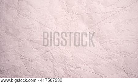 Pink Rose Crumpled Paper Texture Background. Pink Rose Wrinkled Paper Texture Background. Pink Rose