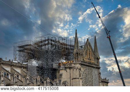 Reconstruction And Restoration Of Notre-dame De Paris After Fire