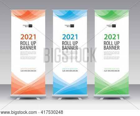Roll Up Banner Design-56