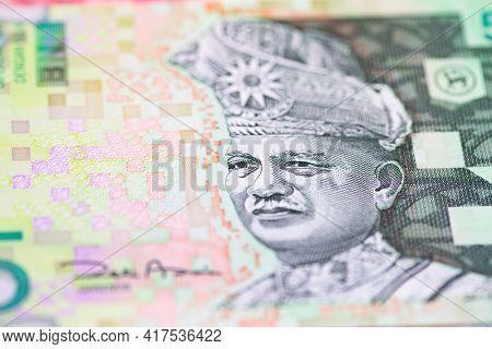 Malaysian ringgit note depicting Tuanku Abdul Rahman, king of Malaysia